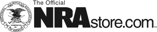 NRA Cobalt Shot Glass