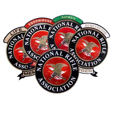 NRA 11 Inch Mylar Decals