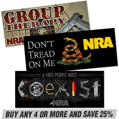 NRA Bumper Stickers