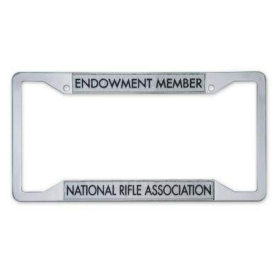 NRA Endowment License Plate Frame