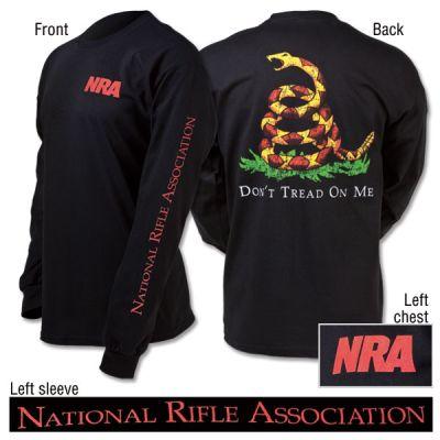 NRA Gadsden Long Sleeve T-Shirt