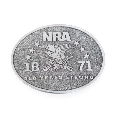 JW 30531, NRA 150 Years Strong Commemorative Belt Buckle