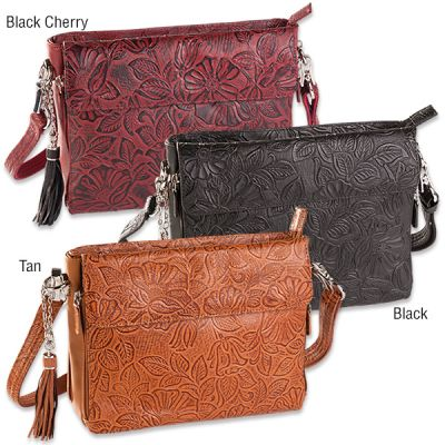 Tooled American Cowhide CCW Purse