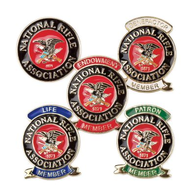 NRA Pride Jumbo Color Membership Pins