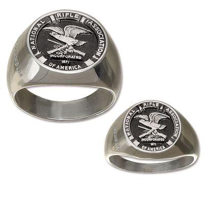 NRA Signet Ring - Duralite