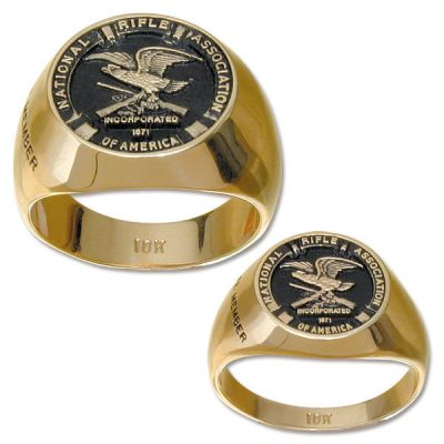 NRA Signet Ring - 10K