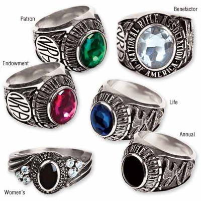 NRA Duralite Collegiate Style Rings