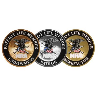 Patriot Life Member Decals
