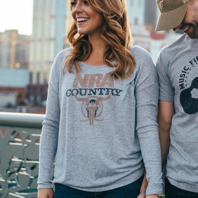 NRA Country Women's Flowing Long Sleeve