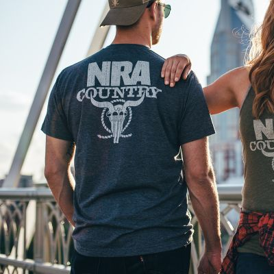 NRA Country Crew Neck T-Shirt