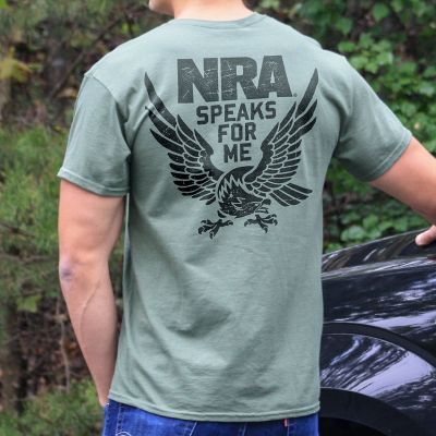 NRA Speaks for Me Heavyweight T-Shirt