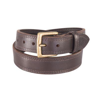 NRA El Dorado Double Thick Gun Belt Brown 32