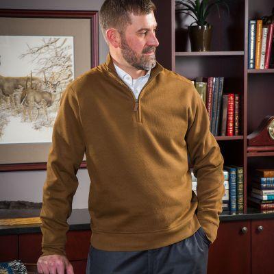 NRA Men's Saratoga 1/4 Zip Pullover