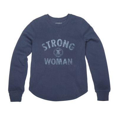 Strong NRA Woman Crewneck Fleece - CO 951