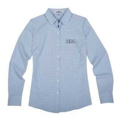 Women's NRA Dress Shirt-Light Blue-S