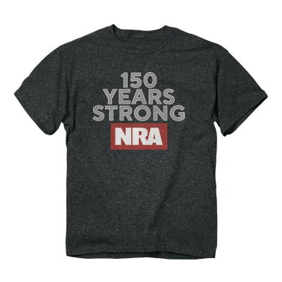 NRA 150 Years Strong Standout T-Shirt - CT 176