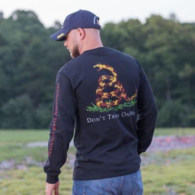 NRA Gadsden Long Sleeve T-Shirt - CT 277