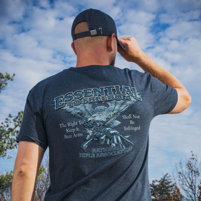 NRA Essential Freedom Tee - CT 952
