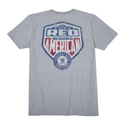"NRA ""Red Blooded American"" Heavyweight T-Shirt"