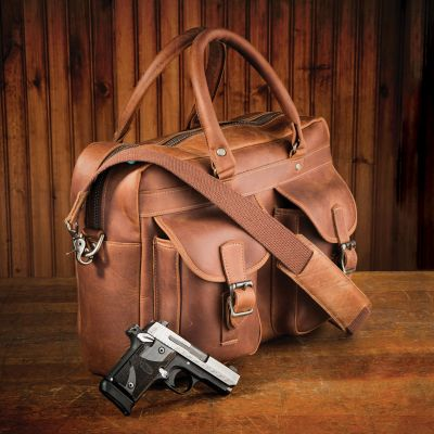 NRA Rio Bravo CCW Leather Briefcase