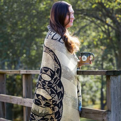 NRA Homestead Throw Blanket - Gadsden