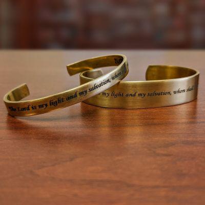 NRA Testament Cuff Bracelets-a