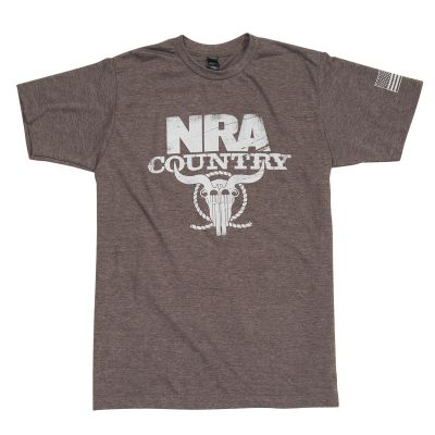 NRA Country Softened Flag T-Shirt