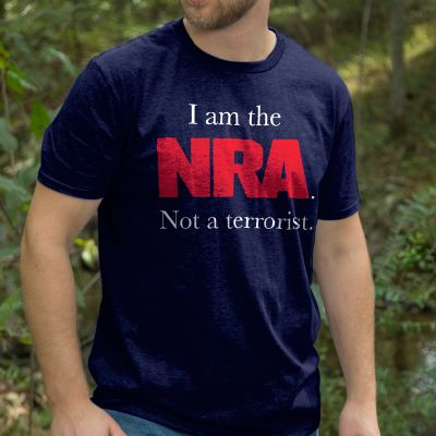 I am not a terrorist t-shirt