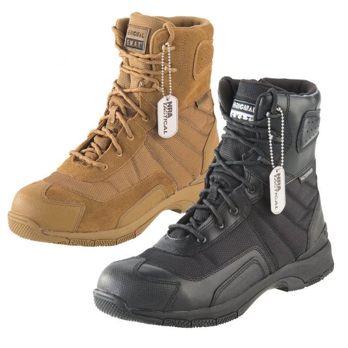 "4ab3da2b389 Original S.W.A.T HAWK 9"" Waterproof Boots"