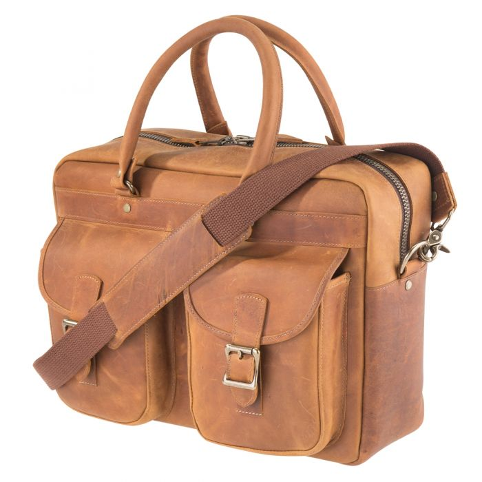 bba356c9896 NRA Rio Bravo CCW Leather Briefcase