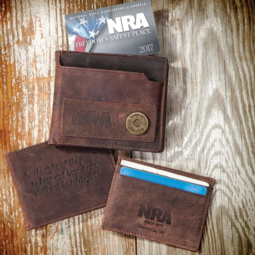 NRA 5-In-1 RFID Blocking Wallets