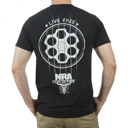 NRA Country Live Free T-Shirt