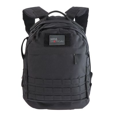 NRA Tactical Ranger CCW Pack Black Front