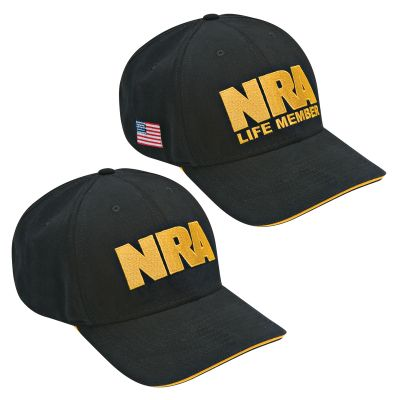 NRA Black/Gold Hat