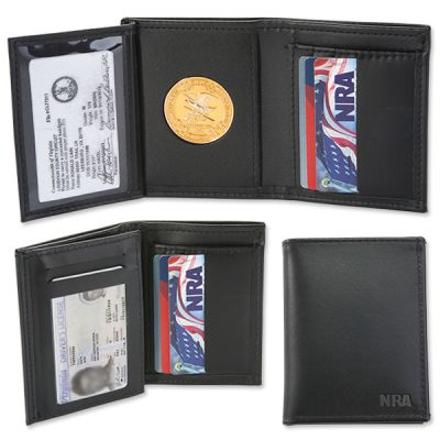 NRA RFID Blocking CCW Permit Wallet