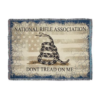 NRA Homestead Gadsden (Don't Tread on Me) Throw Blanket