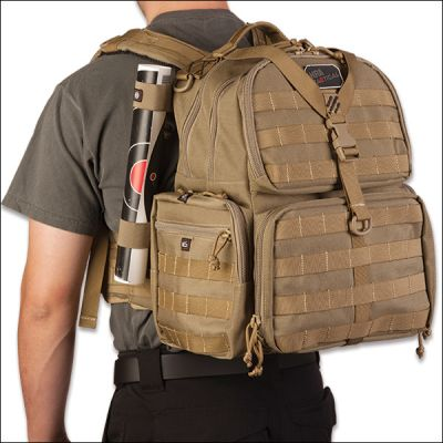 NRA Tactical Free Range Pistol Backpack