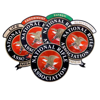NRA Outside Window Decal Pack of 3