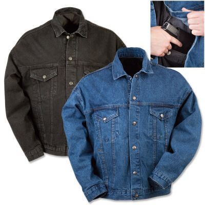 NRA Concealed Carry Denim Jacket