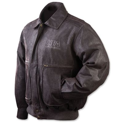 NRA Member Leather Jacket