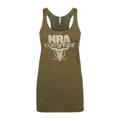 NRA Country Women's Racerback Tank