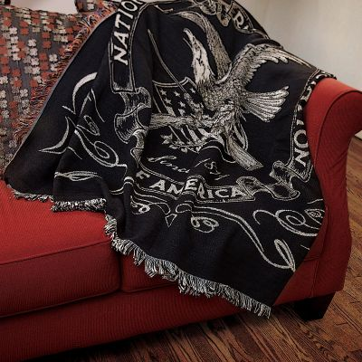 NRA Homestead Classic Throw Blanket