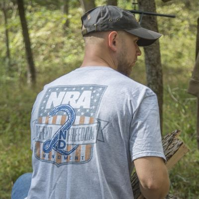 """NRA """"Defend the 2nd"""" SuperSoft T-Shirt"""