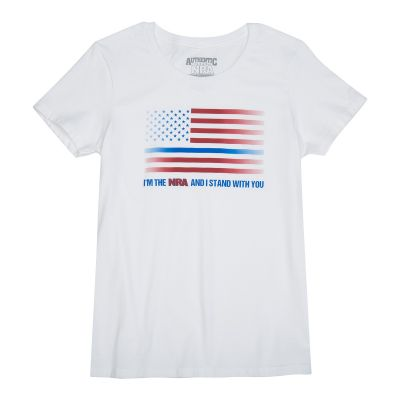 "NRA ""Thin Blue Line""  Women's T-Shirt"