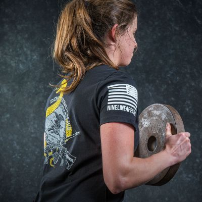 NRA Nine Line Ladies Gadsden T-Shirt