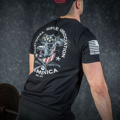 NRA Nine Line American Shield T-Shirt