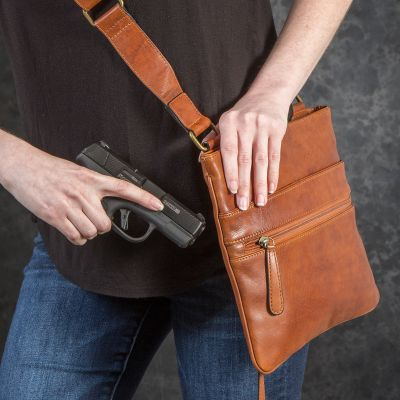NRA CCW Roomy Slim Cross-Body