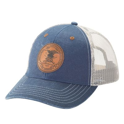 NRA Leather Shield Cap