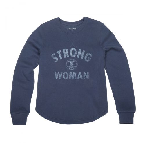 Strong NRA Woman Crewneck Fleece - CO 951