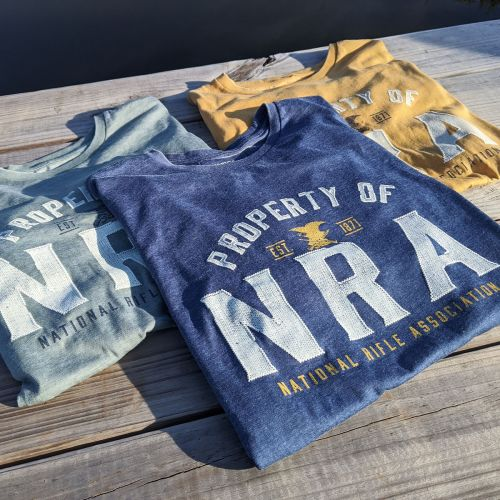 NRA Burnout T-Shirts - CT 949